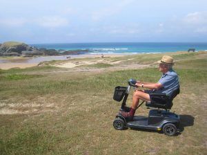 Hire a Scooter in Cornwall